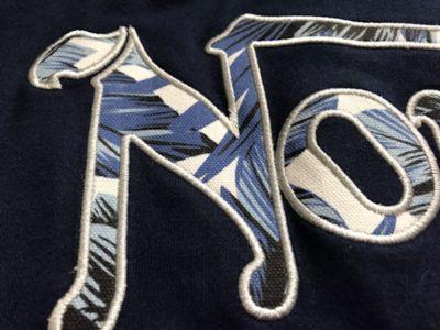 ノートンポロシャツ刺繍