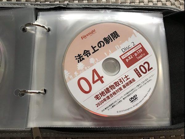 フォーサイト宅建DVD